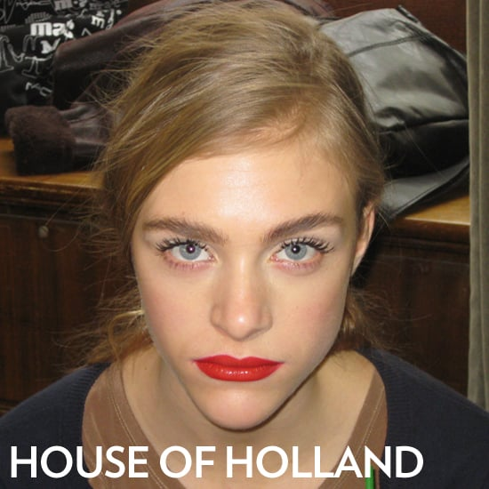 House of Holland Autumn/Winter 2012 Beauty Report
