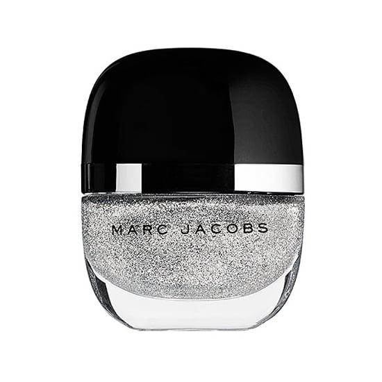 A silver polish classic, Marc Jacobs Beauty Enamored Nail Lacquer in Glinda ($18) creates a wash of glitter that completely covers the nail in two coats.