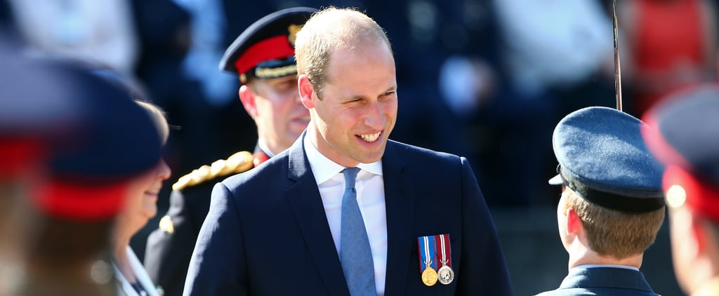 Prince William Is Delightfully Charming During His Visit to Germany