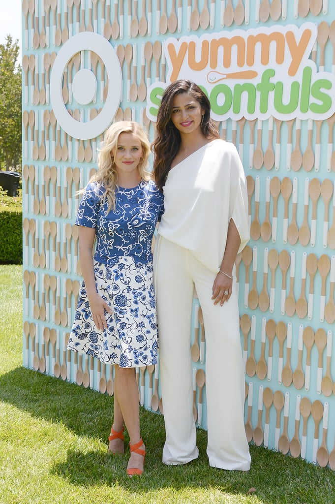 Pictured: Reese Witherspoon and Camila Alves.