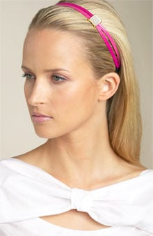 Pink Patent Leather Headband