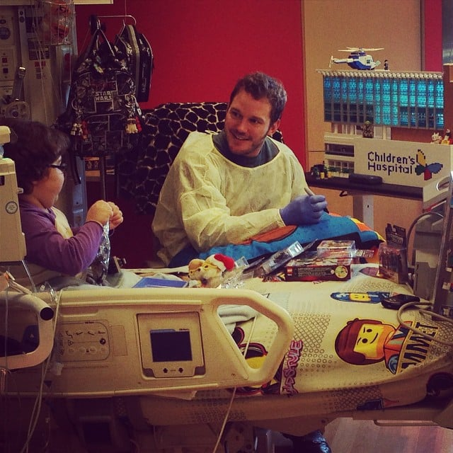 Chris Pratt Makes These Kids' Day With His Heartwarming Hospital Visit