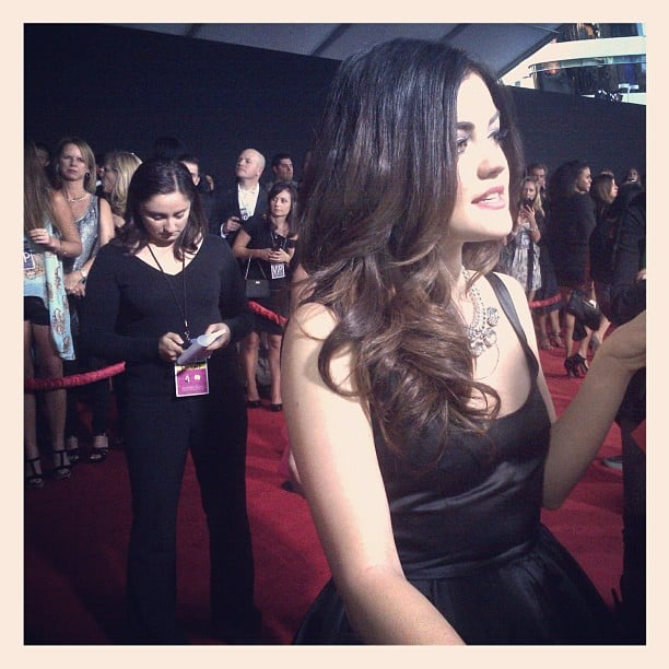 Pretty Little Liar's Lucy Hale was one of the presenters on hand. Source: Instagram user instylemagazine