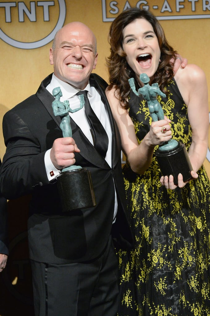 Betsy Brandt and Dean Norris Fawned Over Their SAGs