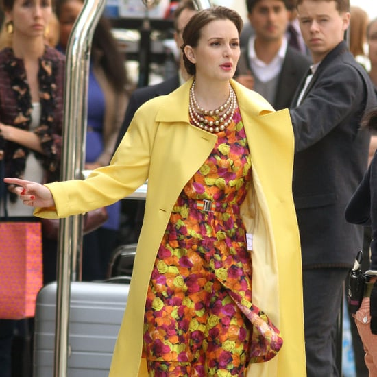 Leighton Meester and Ed Westwick Filming Gossip Girl in NYC