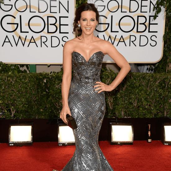 Kate Beckinsale Dress on Golden Globes 2014 Red Carpet
