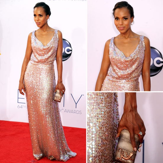 Kerry Washington at the Emmys 2012