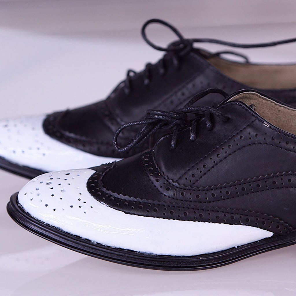 DIY: Two-Tone Oxfords in One Step!