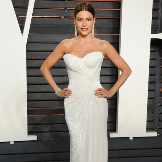 Sofia Vergara Dress at Oscars Vanity Fair Party 2016