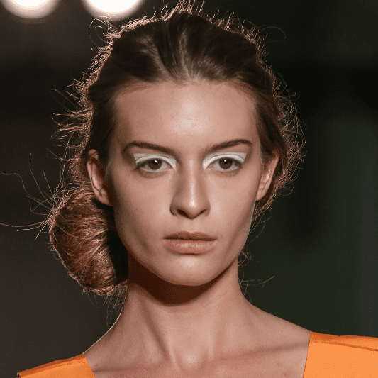 Maison Martin Margiela Spring 2014 Hair and Makeup | Runway