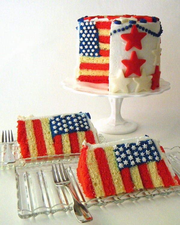Bake This: Flag Cake