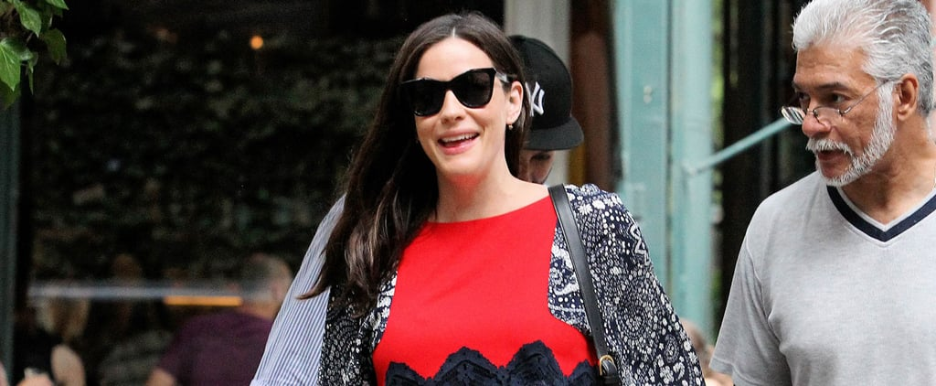 Liv Tyler Is Beaming While Arriving Home After Welcoming Her Baby Daughter
