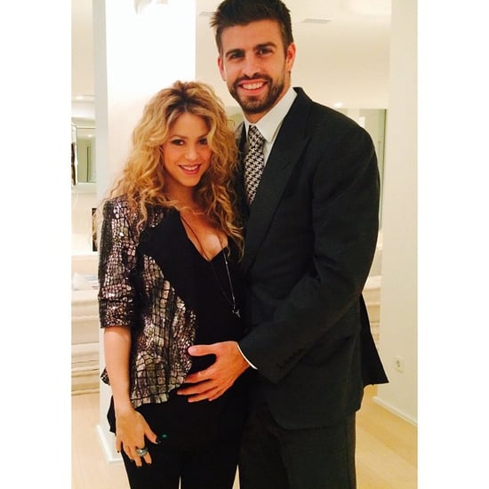 Shakira Puts Her Baby Bump on Display in a Sweet Social Snap
