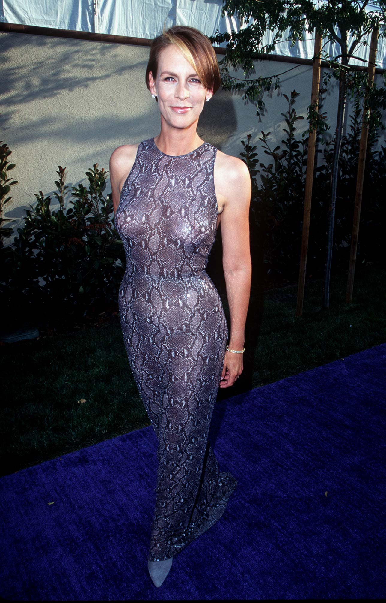 Jamie Lee Curtis went see-through. | The Most '90s-tastic Moments ...