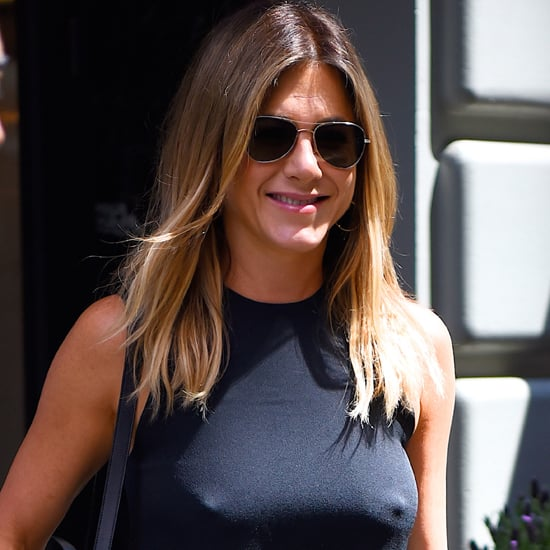 Jennifer Aniston Black Dress June 2016