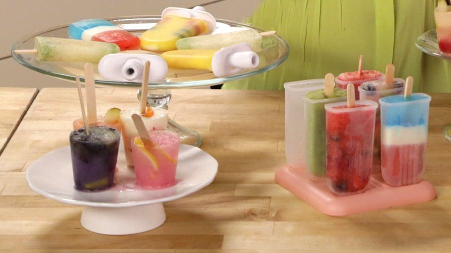 Fresh-Fruit Popsicles