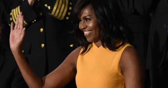 Michelle Obama's 2016 State Of The Union Dress Is Bold And Bright