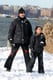 Hugh Jackman Takes His Kids Out For a NYC Snowball Fight!