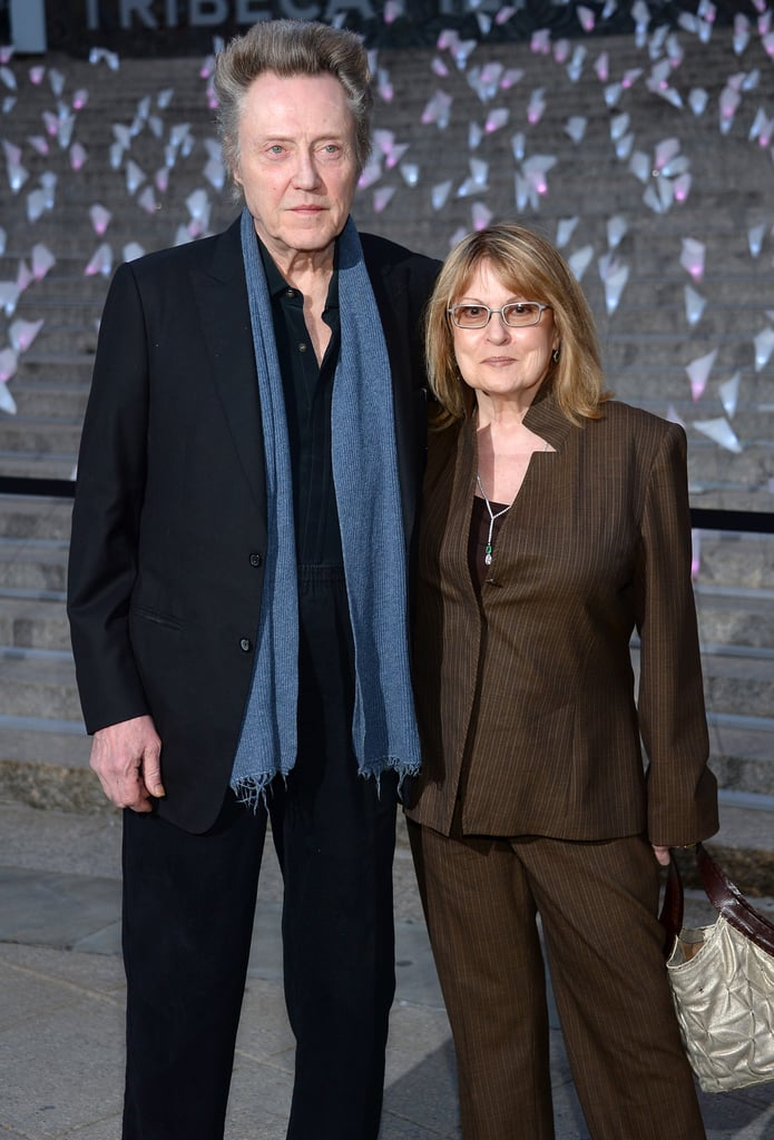 Christopher Walken attended the party with his wife, Georgianne Walken.