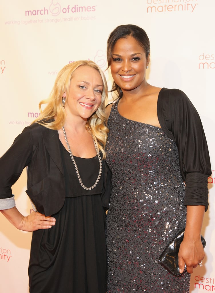 Celebrity mamas Laila Ali and Nicole Sullivan were all smiles as they walked the red carpet.