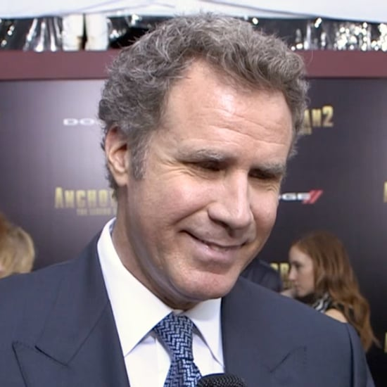 Will Ferrell Interview at Anchorman 2 Premiere   Video