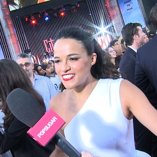 Michelle Rodriguez Interview About Fast and Furious 6