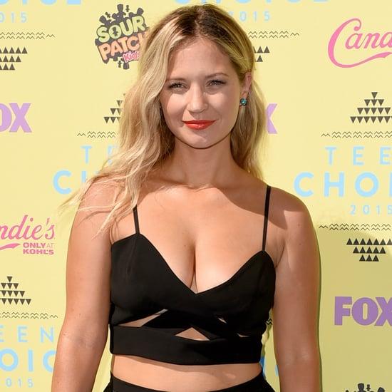 Vanessa Ray at the Teen Choice Awards