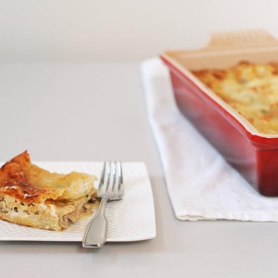 Vegetarian Mushroom Lasagna Recipe