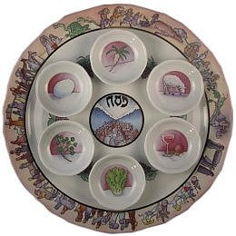 Off to Market: Seder Plate