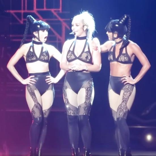 Britney Spears Tells Men to Suck Her Toe | Video