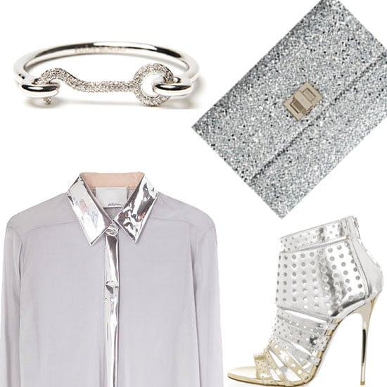 Best Silver Clothing and Clutches 2012