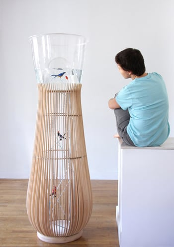 Cool Idea: Duplex Digs For Birds and Fish