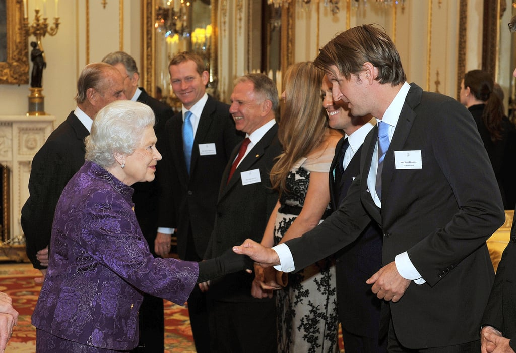The Queen and Tom Hooper
