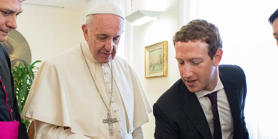 What Mark Zuckerberg And Pope Francis Talked About In Their Meeting