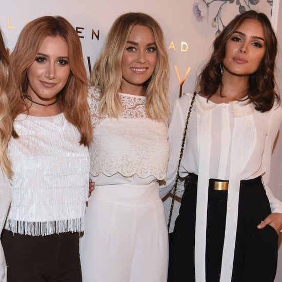 Celebrities at Lauren Conrad's NYFW Show September 2015