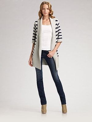 Fab Celebrates Spring With Saks: Win a Long Nautical Chic Line Cardigan!