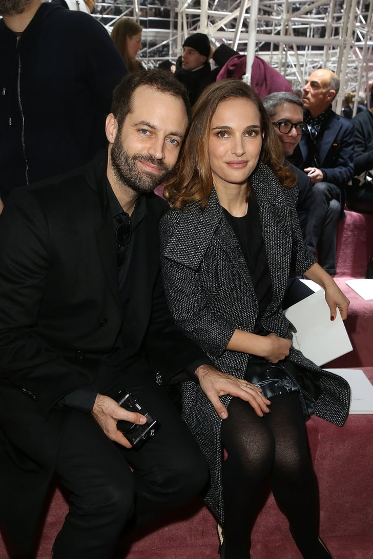 Natalie portman brought along a special date her husband benjamin