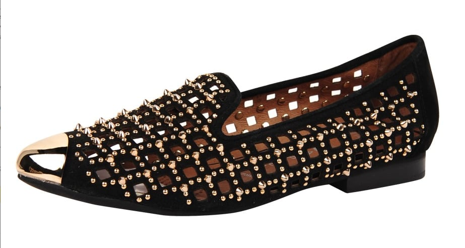 Jeffrey Campbell's studded loafers ($197) meld punk with prep flawlessly. Plus, they're great for the gal who prefers comfort but doesn't want to skimp on cool.