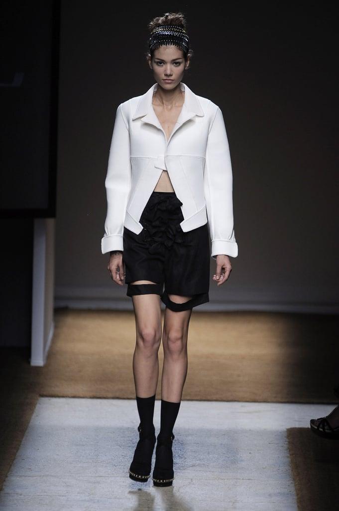 Paris Fashion Week: Yves Saint Laurent Spring 2010
