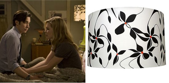 Inspired: Patterned Lampshade in Drag Me to Hell