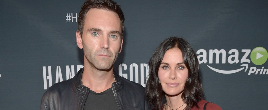 Courteney Cox Cuddles Up to Her Fiancé During a Sweet Appearance