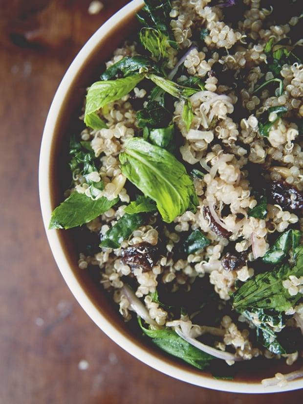 Everything Quinoa Salad