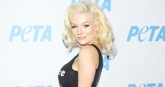 Pregnant Courtney Stodden Shows Off Her Bare Baby Bump in 'Prince R.I.P.' Shirt