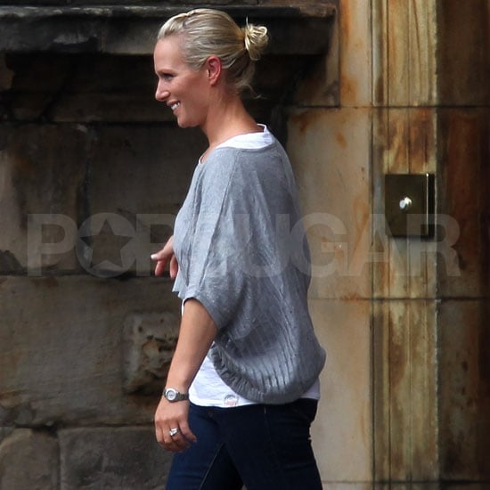 Zara Phillips and Mike Tindall Pictures After Their Wedding
