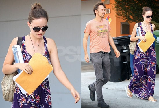 Photos of Olivia Wilde And Husband Tao Ruspoli Walking Together in Venice