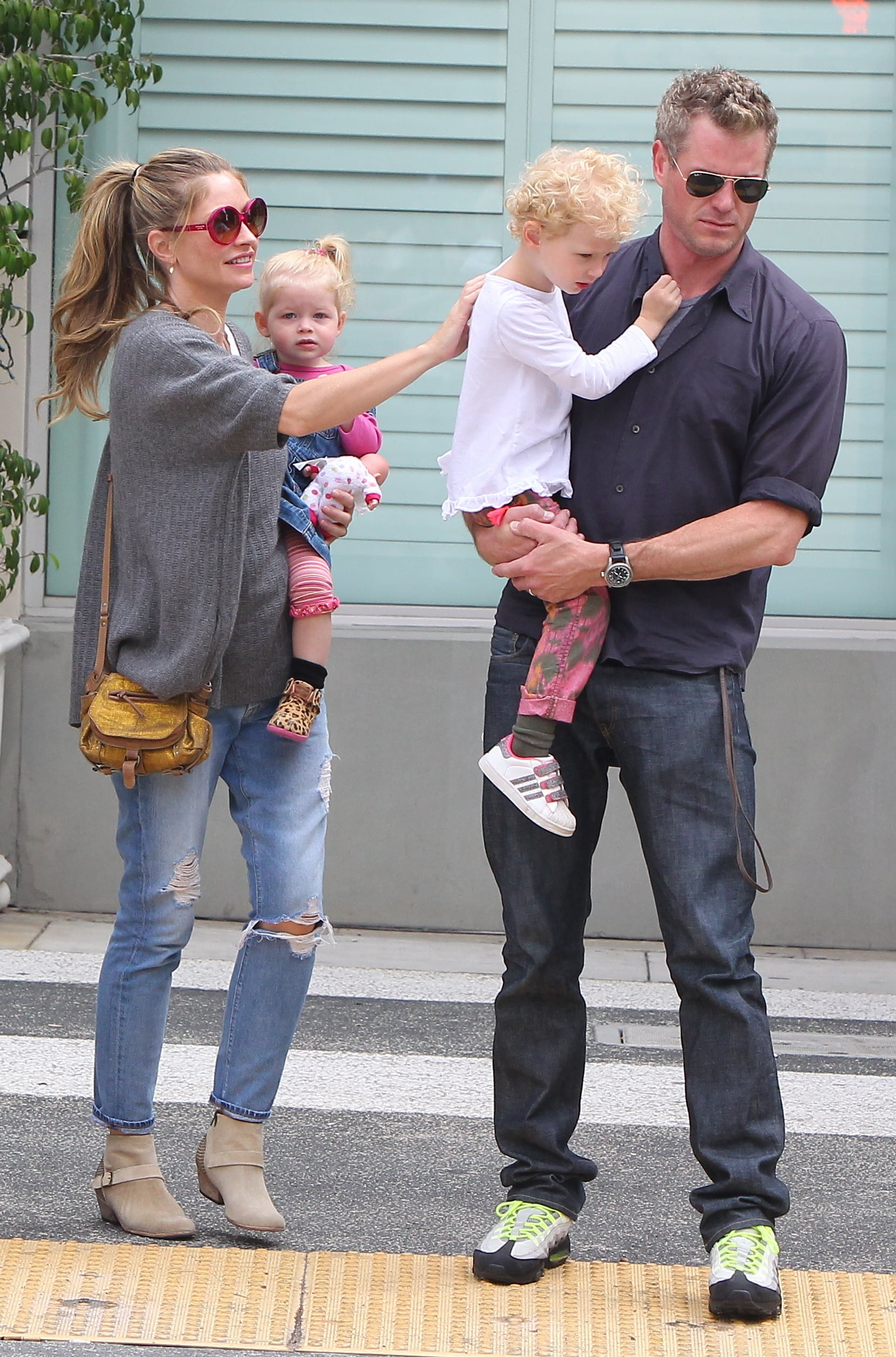 Eric Dane and family