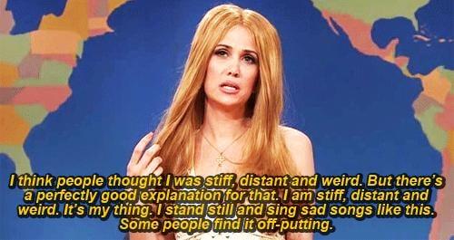 Lana Del Rey on Being Weird