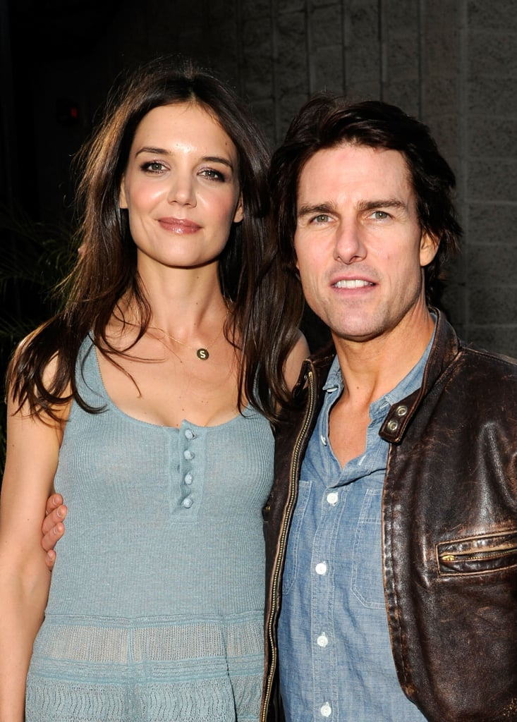 Katie Holmes and Tom Cruise Stick Together to Show Off The Kennedys