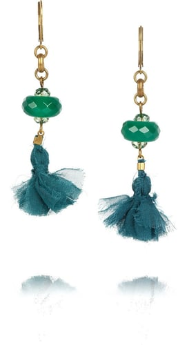 Isabel Marant Beaded tassel earrings