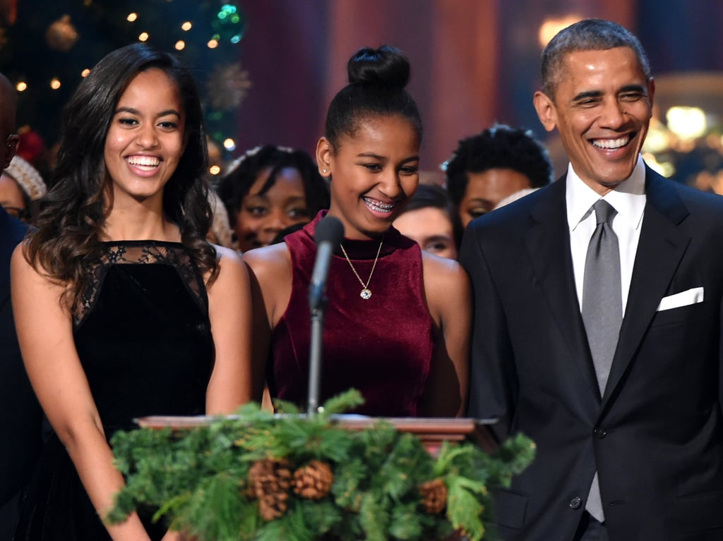 """In his December 2015 interview with GQ, Barack revealed whether anyone ever come to the White House to pick up Malia for a date: """"No, but I've seen some folks glancing at her in ways that made me not happy."""""""